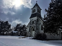 Old Catholic Church in Nebraska built by Czech immigrants around