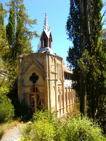 Old chapel in Digne France