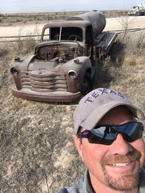 Old chevy water truck I found s of pecos tx a few years ago