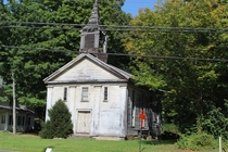 Old Church in South Britain CT