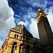Old city hall Toronto x