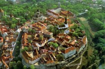 Old city of Talinn and the Toompea castle Estonia