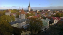 Old City of Tallinn Estonia