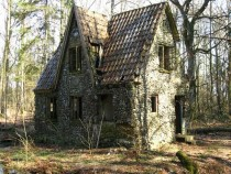 Old cottage in the woods location unknown