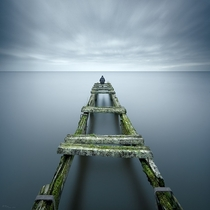 Old dock Lough Neagh Antrim Nothern Ireland  photo by Marius Kastekas