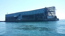 Old dock warehouse thing