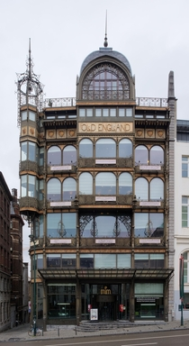 Old England Department Store Paul Saintenoy Brussels