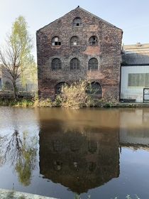 Old factory on the Sheffield canal