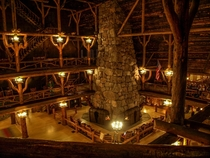 Old Faithful Inn Yellowstone National Park Robert Reamer