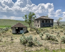 Old farmhouse in Eastern Oregon