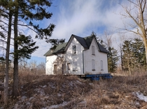 Old farmhouse in Richmond Hill ON