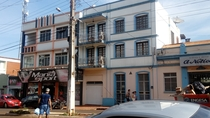 Old fashioned flats in Rio grande do sul Brazil