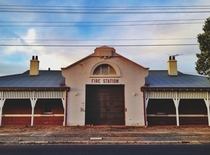 Old fire station in Adelaide South Australia