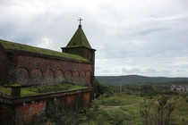 Old french church in Bokor mountain Cambodia