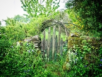 Old Garden gate When people leave Nature takes over Photo by Willie Jarl Nilsen