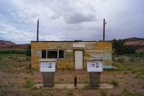 Old Gas Station near Moab UT