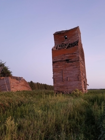 Old Grain Silo in ND