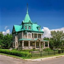 Old house build in  Call Richards castle Qubec Canada Sadly abandoned and will be destroyed