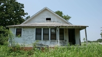 Old house I lived in as a kid in Holdenville OK