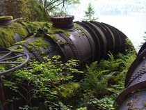 Old Hydro Pipes- British Columbia