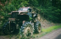 Old Lifted Truck Back Creek Valley WV