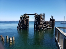 Old loading crane near Port Townsend WA