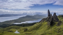 Old Man of Storr Isle of Skye Scotland  by BJE Photography