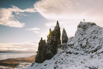 Old man of Storr Scotland by AbeShoots