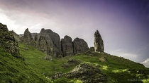 Old Man of Storr The Isle of Skye Scotland