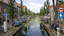 Old medieval city of Delft the Netherlands