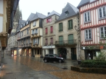 Old Meets New Fantasyland Magic Kingdom I mean Quimper Bretagne France
