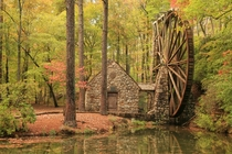 Old Mill Berry College Campus Rome Floyd County Georgia by Alan Cressler  x-post rHI_Res