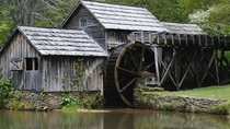Old Mill by Steeve Grass