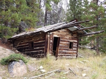 Old miners cabin in southwest Montana