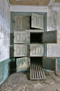 Old morgue at a Communicable DiseaseIsolation Hospital Ellis Island New York