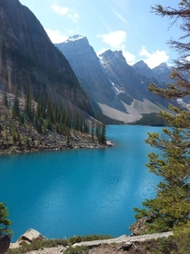 Old picture I took of Moraine Lake Alberta Canada OC x