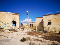 Old radar station on Malta