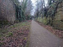 Old railway line in Liverpool known as the loopline AKA The Ralla  X