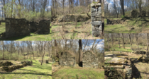 Old ruins in Sykesville MD The buildings that once stood here were washed away by a flood in  and the foundations have been untouched since