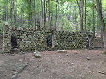 Old Stone Structure in the Woods of Mahwah NJ OC album in comments