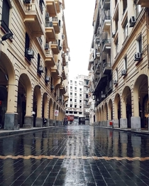 Old streets in cairo Egypt