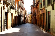 Old Town Oviedo in Spain