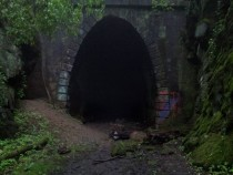 Old train tunnel in Virginia