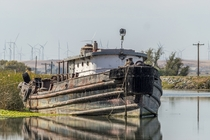 Old Tug on the California Delta