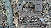 Old typewriter Columbia County GA