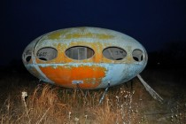 Old UFO drive in near Dallas