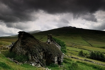 Old Welsh Cottage Ruins Photo by Kevin OBrian
