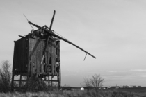 Old windmill in Poland