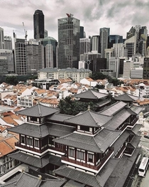 Old world meets new world in Singapore