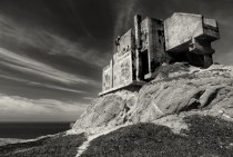 Old WW II bunker on Northern California coast